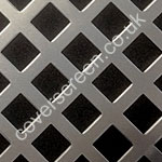 Nevada Anodised Aluminium Decorative Grille