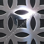 Farnham polished stainless steel grille