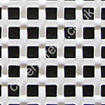 white interwoven effect square